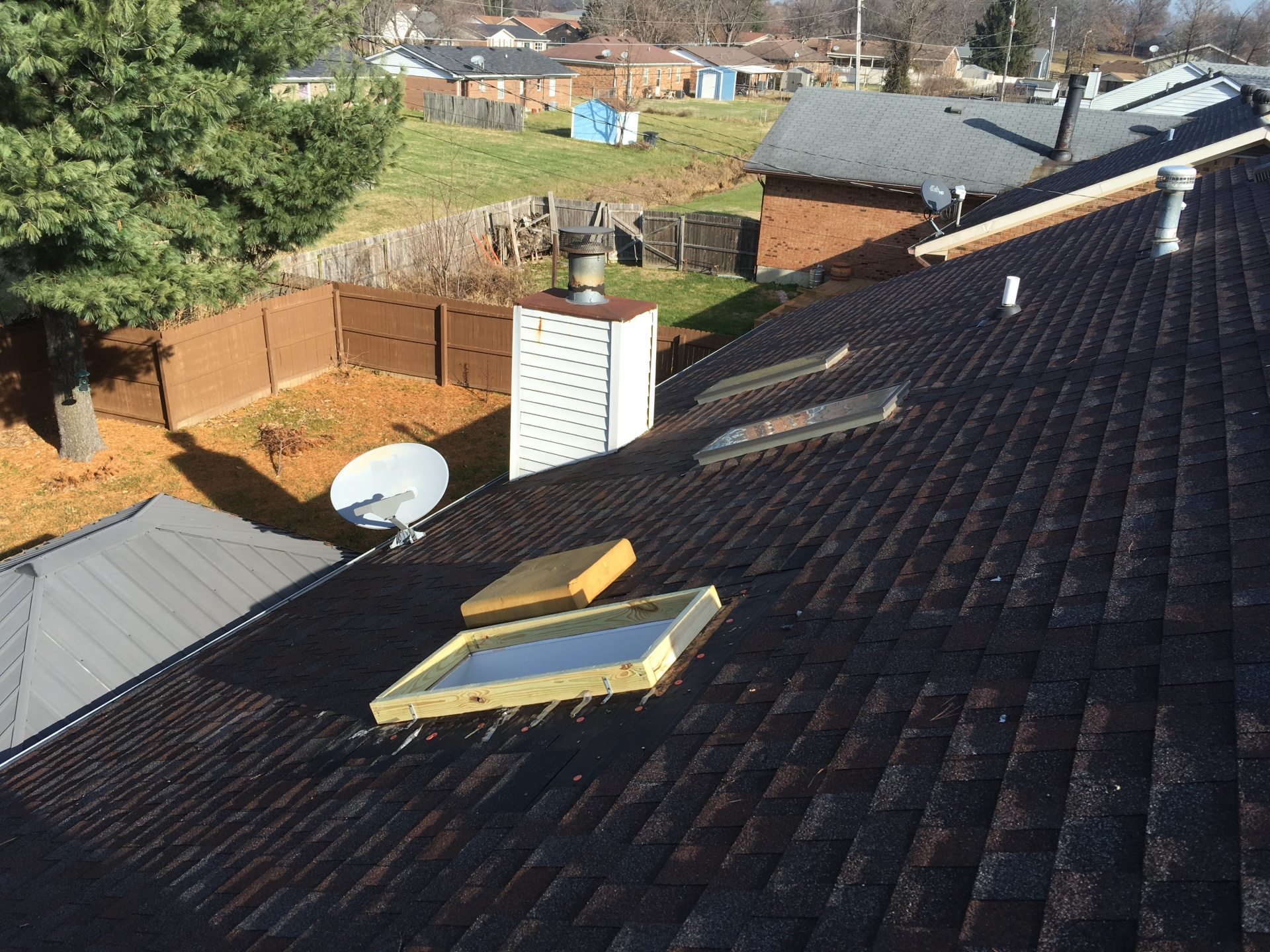 Replacing  Skylights